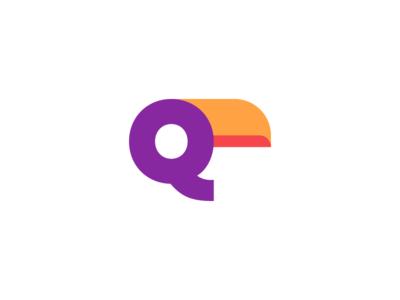 Q + Toucan Logo Design wing wings exotic beak toucan animals animal nature head bird graphic designer logo designer icons monogram mark branding brand identity design icon logo