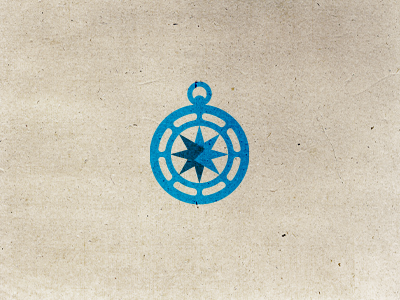 Endurance Logo Mark Design logo icon icons design blue endurance ship ocean sea star compass direction hosting international group branding identity utopia