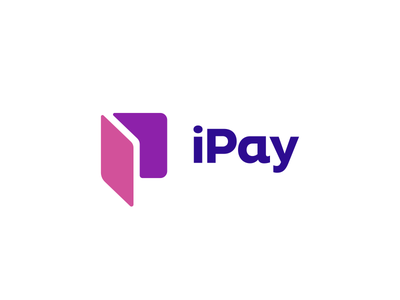 iPay Logo Design i p pay talk social communication wallet speech bubble modern vibrant digital logo icon icons symbol graphic design designer geometry geometric finance insurance security clever smart creative business cards stationery brand branding identity