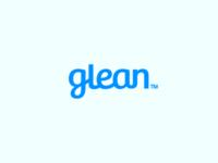 Glean Logo Design