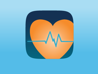 HealthPulse iOS App Icon
