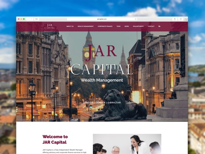 Jar Capital Website