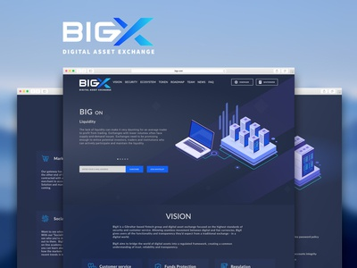 BigX Website Design