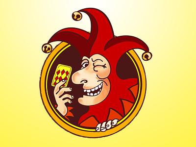 jester joker1 minimal flat vector typography logo illustrator illustration icon graphic design design