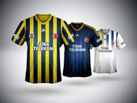 Fenerbahçe SK 13/14 kits