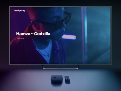 📺 Foreignrap for Apple TV tvos free content editorial apple tv tv apple music foreignrap
