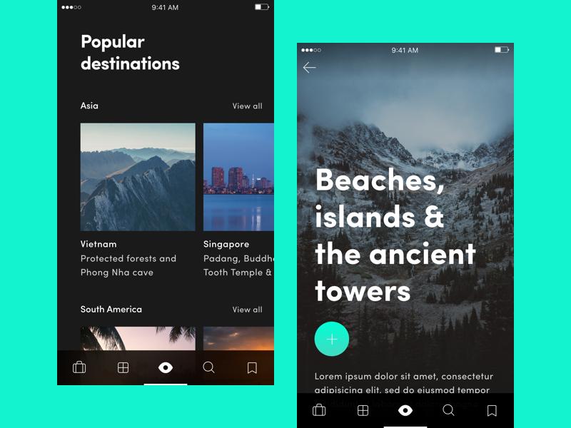 Travel App for iOS