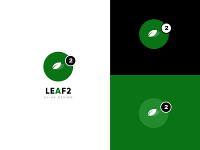 Leaf2 Logo Branding ui ux flat design minimal icon logodesign product brand identity branding logo