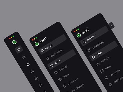 Sidebar Navigation elements component navigation bar design system interface side menu sidebar navigation ux ui