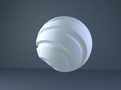 3D Sphere sphere creative 3d minimal ux c4d