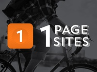 1 Page Sites