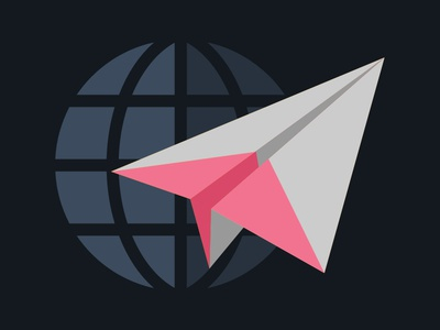 Announcing Our New Monthly Newsletter blog illustration newsletter paper plane