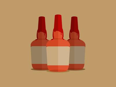 Bourbon Bottle Illustration bourbon whiskey blog bottle illustration