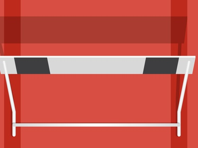 Hurdle Illustration blog illustration hurdle