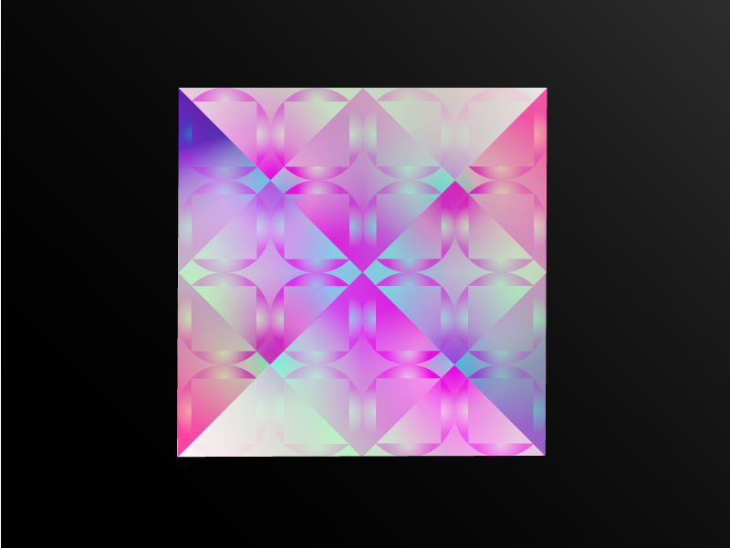 Holographic Panel Experiment holographic colorful gradient mesh gradient illustrator