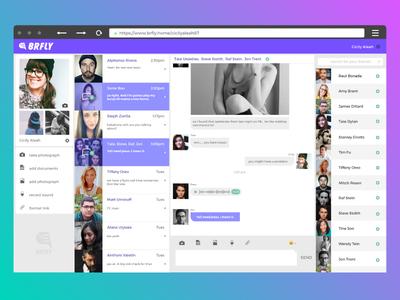 Brfly Chat App [web version]