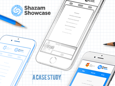Shazam Showcase Case Study Illustration