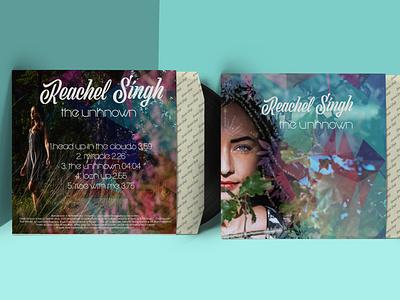 The Unknown album cover digital drawing print design album cover photoshop