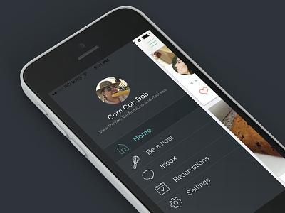 Homefed Menu homefed sharing food ios iphone mobile menu
