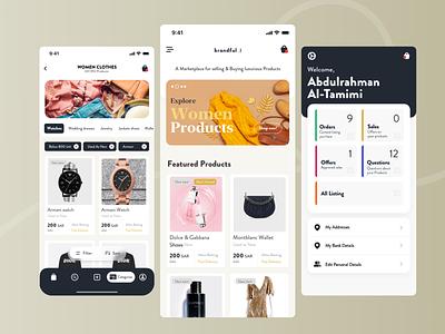 Brandfull Mobile App Design ecommerce brands brand mobile ios app design ux ui brandfull mobile design brandfull mobile design