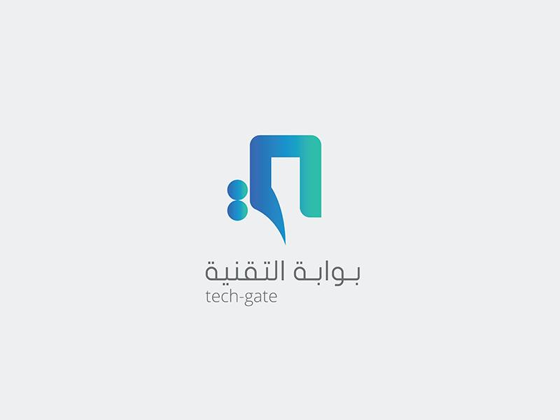 tech gate logo by ayman shaltoni dribbble