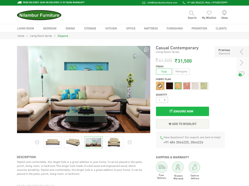 Online Furniture Store By Vishal Jerome Dribbble Dribbble