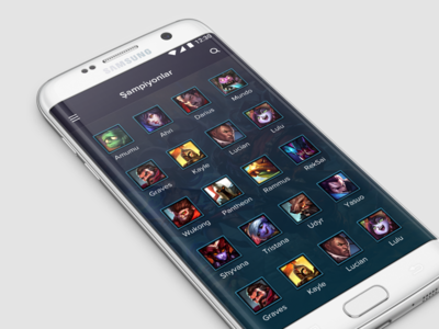 League of Legends App - [WIP]