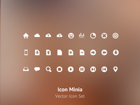 Minia Icon Set