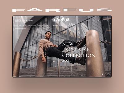 E-commerce 2021 website concept webdesign ui ux cайт figma design