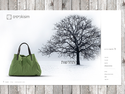 Handmade Bags Website rwd clean design creative wordpress store responsive design bag ui ux ecommerce website