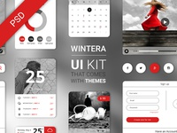 Free UI Starter Kit – Wintera theme
