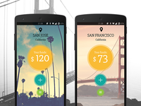 Miles - BattleHack 2015 Finals entry competition transportation paypal travel battlehack hackathon app ui ux