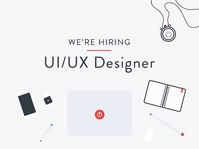We're hiring! UI/UX Designer remote ux ui hiring designer toggl
