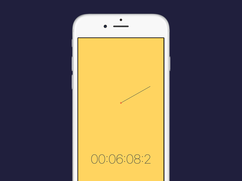 Toggl Stopwatch productivity time tracker timer stopwatch ux ui toggl