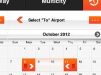 Draggable Calendar Selection