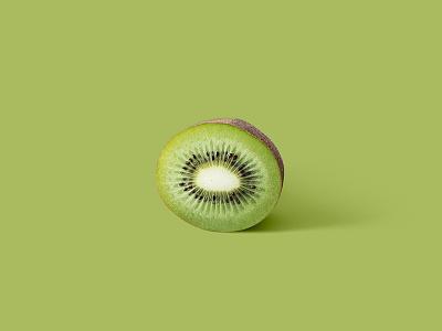 Frutas series - Kiwi II picture green fruit kiwi