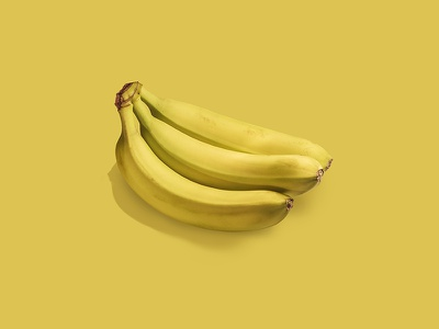 Frutas series - Bananana photography yellow color fruit banana