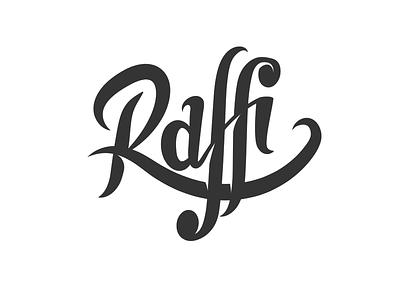 Raffi digital letters raffi logo