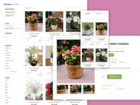 Flowers Ecommerce Internal Pages - Casa do Florista