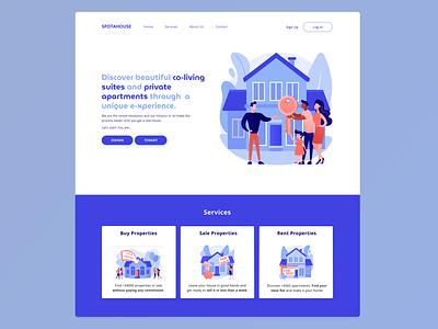 Web Design | Landing Page graphic design ui