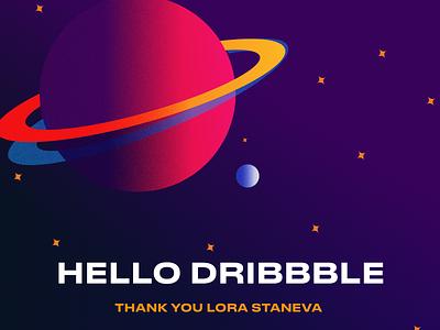Hello Dribbble design