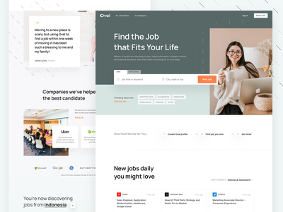 Jobseeker Landing Page slider card design tag search form simple header marketplace bootstrap dashboard illustration onboarding figma sketch web design template black friday ui kit homepage landing page saas hrd jobseeker