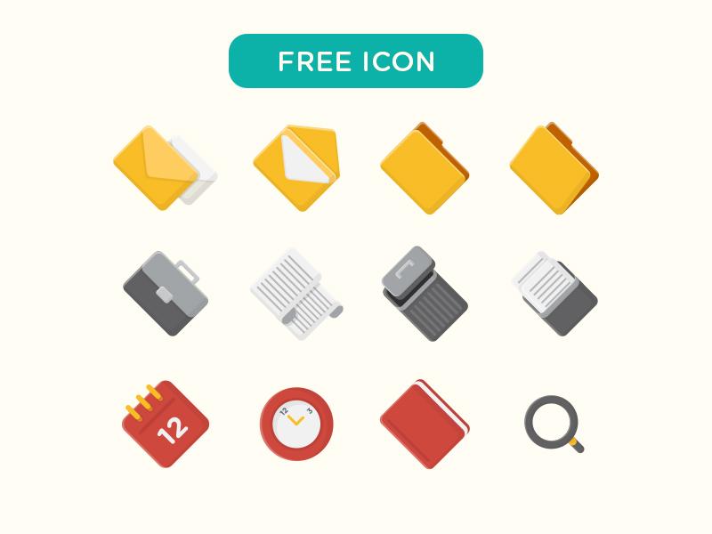 Free Vector Icon search deadline trash file download free vector icon freebie vector stock icon