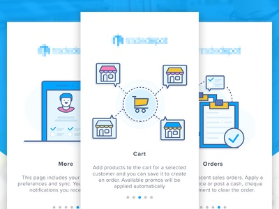 Inventory Management Apps Tutorial 2 africa wholesale walktrough vector tutorial shop onboarding material design inventory illustration icon ecommerce