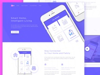 Smart Home Apps Landing Page
