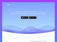 Treble apps landing page a