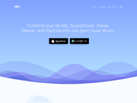 Treble apps landing page