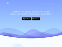 Treble apps landing page