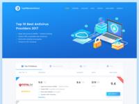 Antivirus Comparison Website