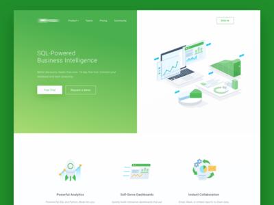 Business Analytics Website